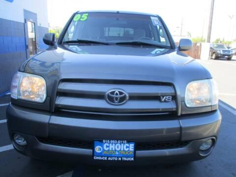 2005 Toyota Tundra for sale at Choice Auto & Truck in Sacramento CA