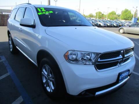 2012 Dodge Durango for sale at Choice Auto & Truck in Sacramento CA