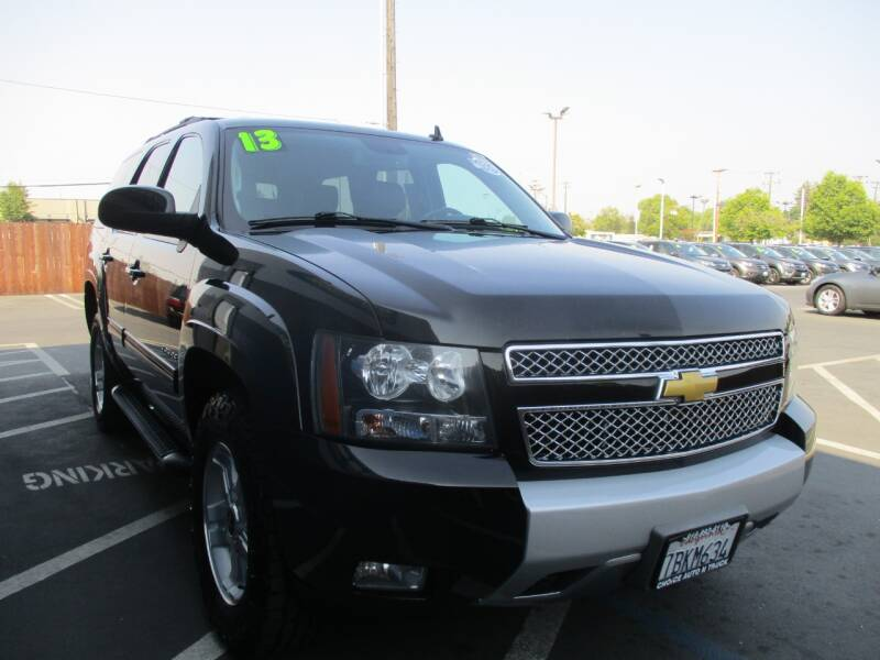 2013 Chevrolet Tahoe for sale at Choice Auto & Truck in Sacramento CA