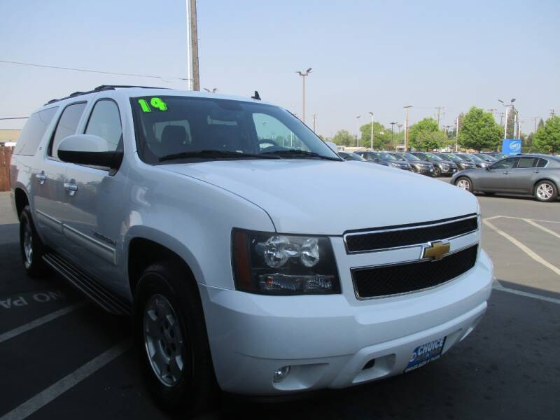 2014 Chevrolet Suburban for sale at Choice Auto & Truck in Sacramento CA