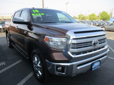 2014 Toyota Tundra for sale at Choice Auto & Truck in Sacramento CA