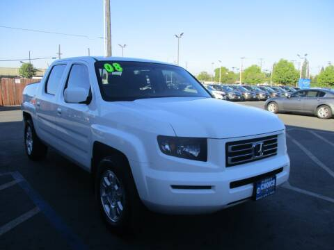 2008 Honda Ridgeline for sale at Choice Auto & Truck in Sacramento CA