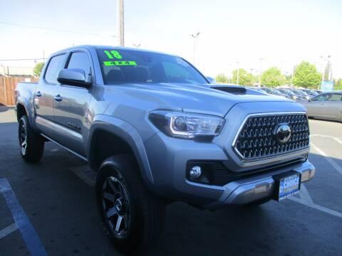 2018 Toyota Tacoma for sale at Choice Auto & Truck in Sacramento CA