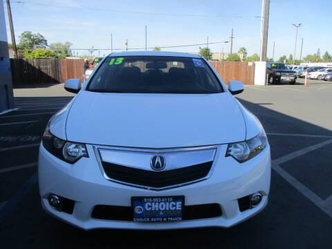 2013 Acura TSX for sale at Choice Auto & Truck in Sacramento CA