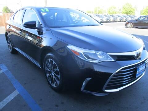 2017 Toyota Avalon for sale at Choice Auto & Truck in Sacramento CA