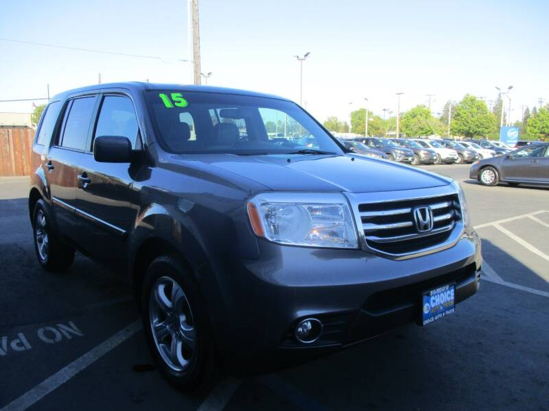 2015 Honda Pilot for sale at Choice Auto & Truck in Sacramento CA