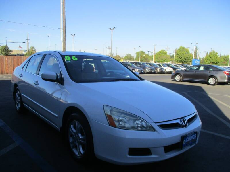 2006 Honda Accord for sale at Choice Auto & Truck in Sacramento CA