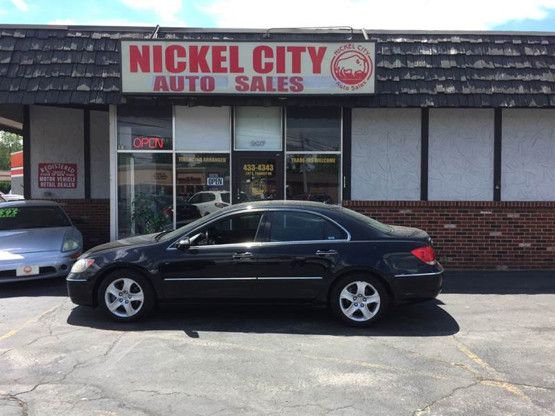 Acura Rl SHAWD Dr Sedan In Lockport NY NICKEL CITY AUTO SALES - Acura rl wheels for sale
