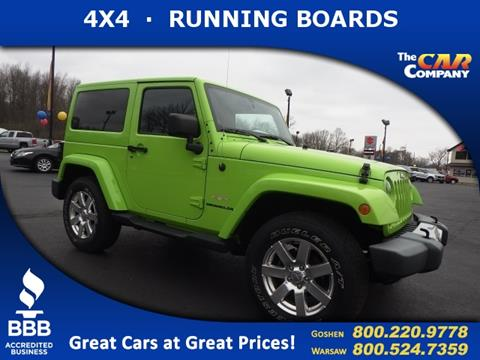 2013 Jeep Wrangler for sale in Warsaw, IN