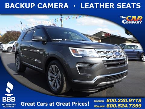 2018 Ford Explorer for sale in Warsaw, IN
