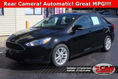 2016 Ford Focus for sale in Warsaw, IN