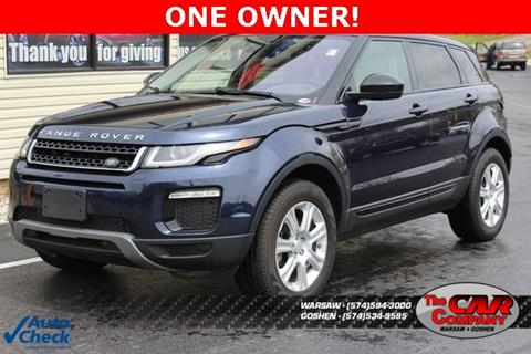 2016 Land Rover Range Rover Evoque for sale in Warsaw, IN
