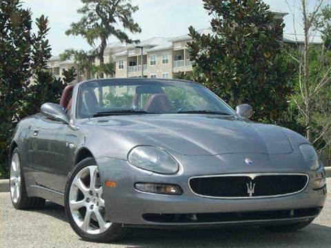 2003 Maserati Spyder for sale at PORT TAMPA AUTO GROUP LLC in Riverview FL