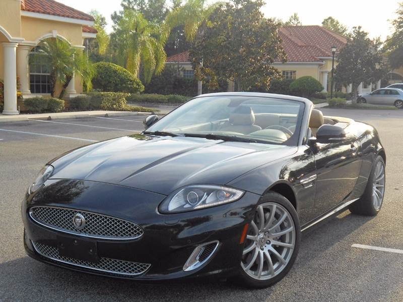 2012 Jaguar XK for sale at PORT TAMPA AUTO GROUP LLC in Riverview FL