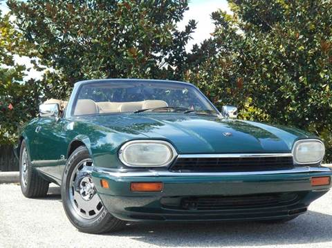 1996 Jaguar XJS for sale at PORT TAMPA AUTO GROUP LLC in Riverview FL