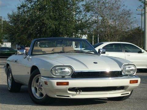 1995 Jaguar XJS for sale at PORT TAMPA AUTO GROUP LLC in Riverview FL