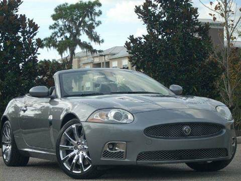 2007 Jaguar XKR for sale at PORT TAMPA AUTO GROUP LLC in Riverview FL