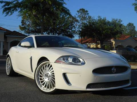 2010 Jaguar XK for sale at PORT TAMPA AUTO GROUP LLC in Riverview FL