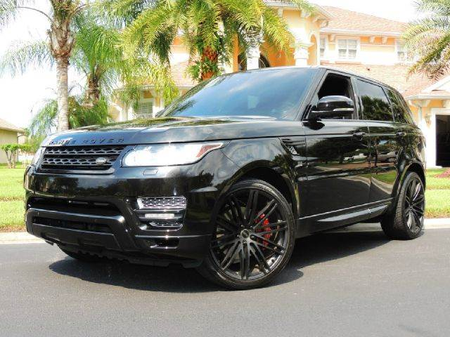 2014 Land Rover Range Rover Sport for sale at PORT TAMPA AUTO GROUP LLC in Riverview FL
