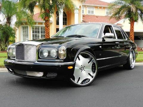 2001 Bentley Arnage for sale at PORT TAMPA AUTO GROUP LLC in Riverview FL