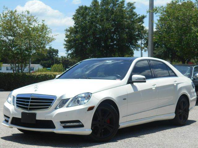 2012 Mercedes-Benz E-Class for sale at PORT TAMPA AUTO GROUP LLC in Riverview FL