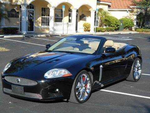 2008 Jaguar XKR for sale at PORT TAMPA AUTO GROUP LLC in Riverview FL