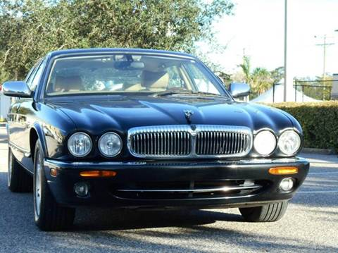 2002 Jaguar XJ for sale at PORT TAMPA AUTO GROUP LLC in Riverview FL