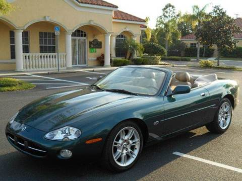 2002 Jaguar XK-Series for sale at PORT TAMPA AUTO GROUP LLC in Riverview FL
