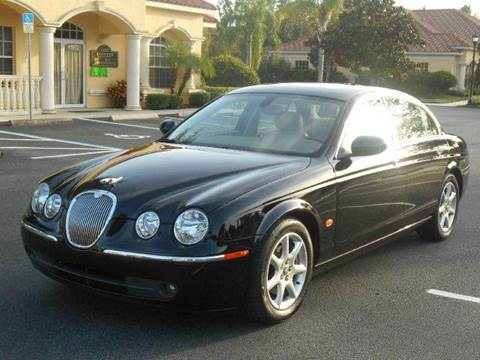 2005 Jaguar S-Type for sale at PORT TAMPA AUTO GROUP LLC in Riverview FL