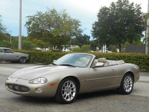 2001 Jaguar XKR for sale at PORT TAMPA AUTO GROUP LLC in Riverview FL