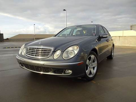 2006 Mercedes-Benz E-Class for sale at PORT TAMPA AUTO GROUP LLC in Riverview FL