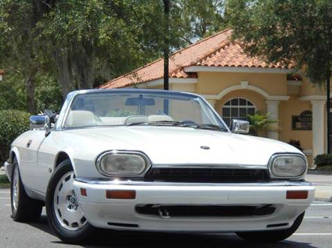 1996 Jaguar XJS for sale at PORT TAMPA AUTO GROUP LLC in Riverview FL