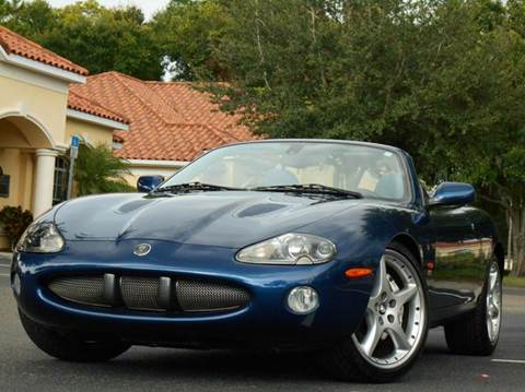 2004 Jaguar XKR for sale at PORT TAMPA AUTO GROUP LLC in Riverview FL