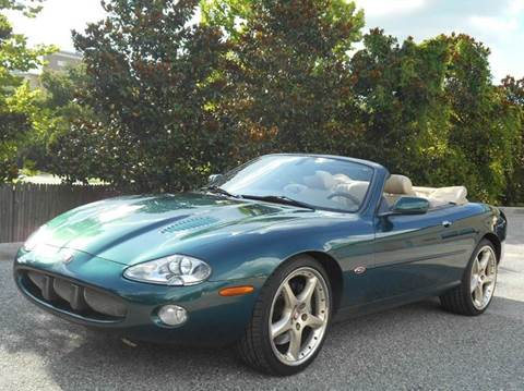 2002 Jaguar XKR for sale at PORT TAMPA AUTO GROUP LLC in Riverview FL