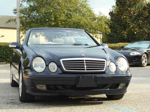 2003 Mercedes-Benz CLK for sale at PORT TAMPA AUTO GROUP LLC in Riverview FL