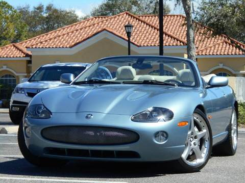 2005 Jaguar XKR for sale at PORT TAMPA AUTO GROUP LLC in Riverview FL