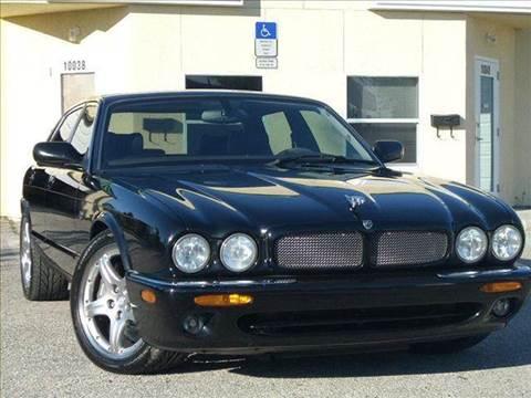 2003 Jaguar XJR for sale at PORT TAMPA AUTO GROUP LLC in Riverview FL