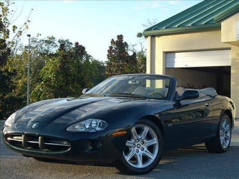 2000 Jaguar XK-Series for sale at PORT TAMPA AUTO GROUP LLC in Riverview FL