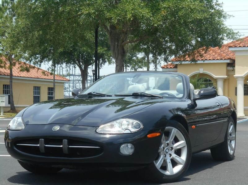 2003 Jaguar XK-Series for sale at PORT TAMPA AUTO GROUP LLC in Riverview FL
