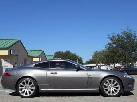 2008 Jaguar XK-Series for sale at PORT TAMPA AUTO GROUP LLC in Riverview FL