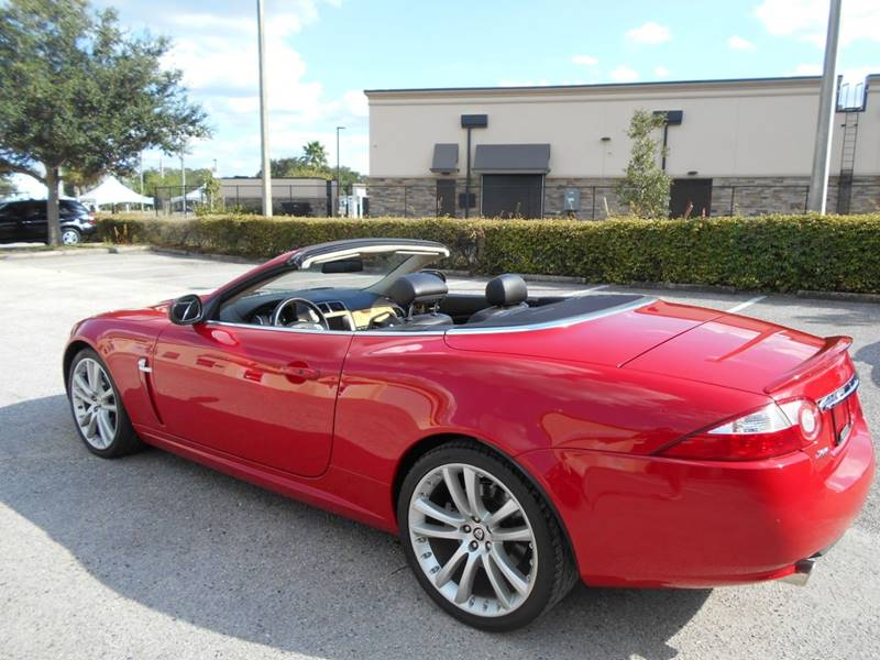 2007 Jaguar XK-Series for sale at PORT TAMPA AUTO GROUP LLC in Riverview FL