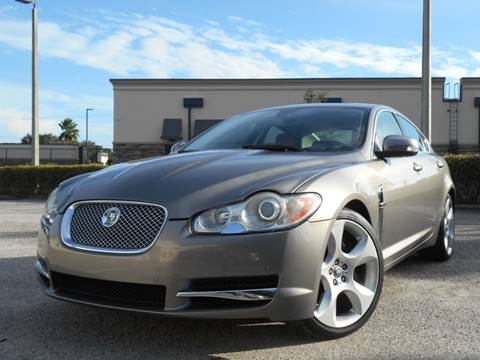 2009 Jaguar XF for sale at PORT TAMPA AUTO GROUP LLC in Riverview FL