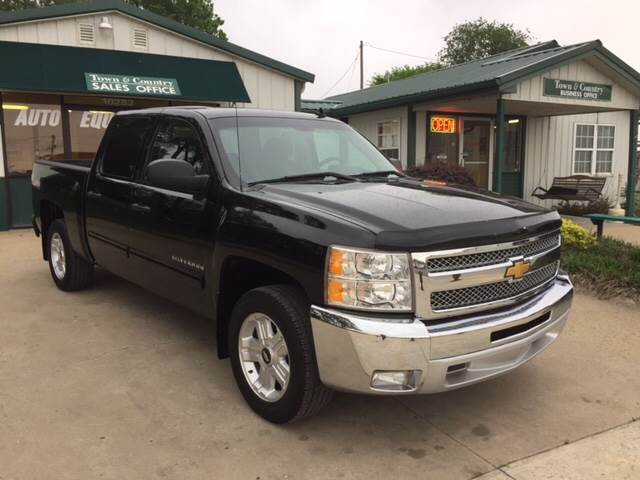 2012 Chevrolet Silverado 1500 for sale at TOWN & COUNTRY MOTORS INC in Meriden KS