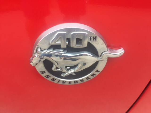 2004 Ford Mustang for sale at TOWN & COUNTRY MOTORS INC in Meriden KS