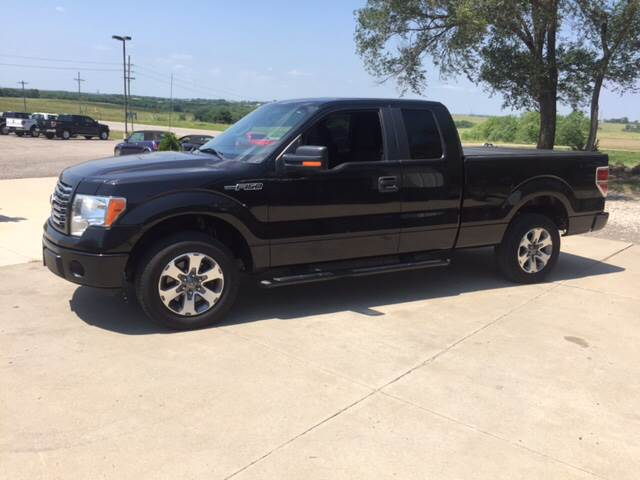 2011 Ford F-150 for sale at TOWN & COUNTRY MOTORS INC in Meriden KS