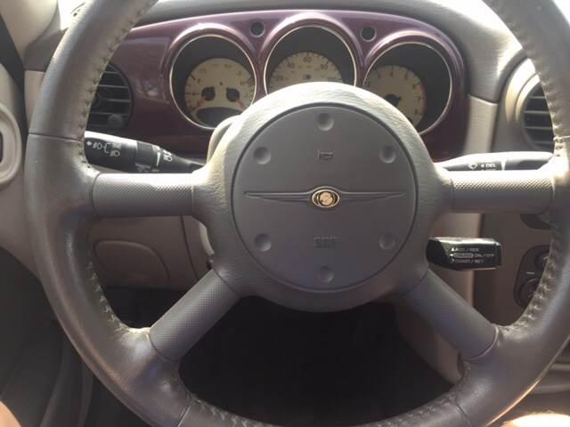 2003 Chrysler PT Cruiser for sale at TOWN & COUNTRY MOTORS INC in Meriden KS