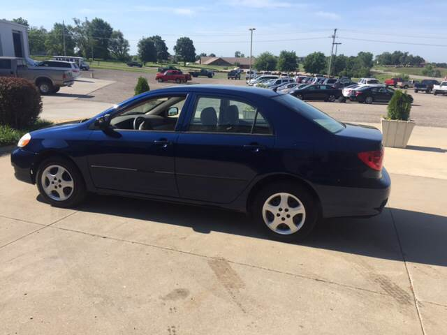 2008 Toyota Corolla for sale at TOWN & COUNTRY MOTORS INC in Meriden KS