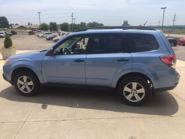 2011 Subaru Forester for sale at TOWN & COUNTRY MOTORS INC in Meriden KS