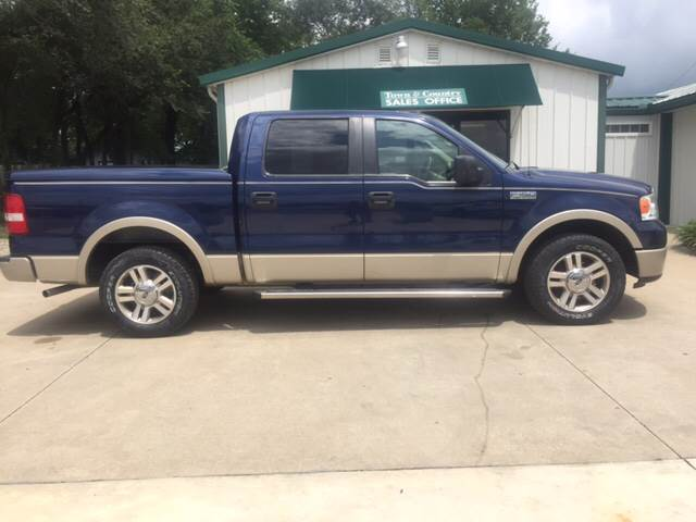2007 Ford F-150 for sale at TOWN & COUNTRY MOTORS INC in Meriden KS