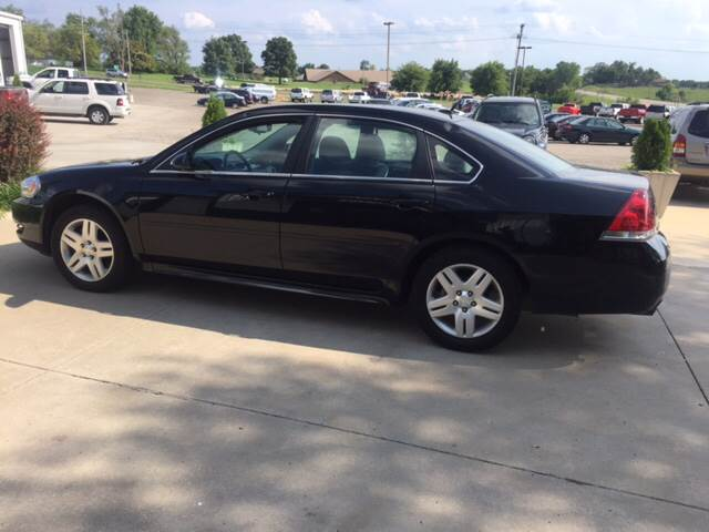 2012 Chevrolet Impala for sale at TOWN & COUNTRY MOTORS INC in Meriden KS